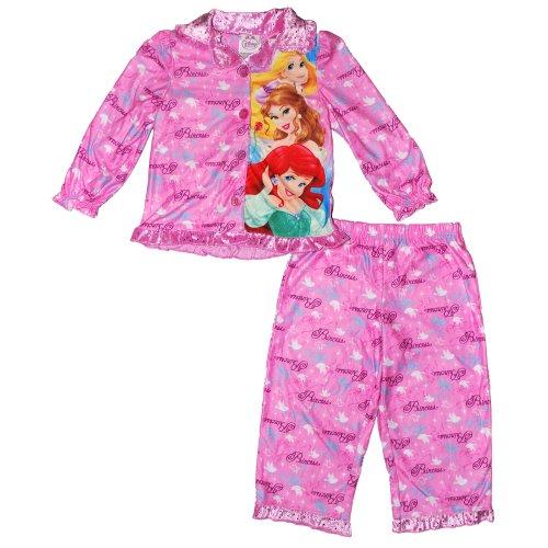 Disney Girls 2T-4T Princess Coat Set (3T) front-92241