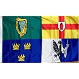 """Ireland """"Provinces"""" Flag - 3 foot by 5 foot Polyester - Irish (NEW)"""
