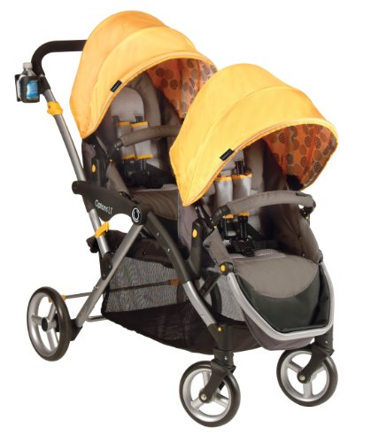 New Contours Options LT Tandem Stroller, Valencia Gold