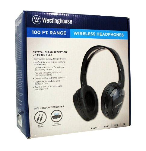 Buy Westinghouse WESWH930GBHT  Wireless Headphones with Built-In FM Radio