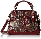 Buxton Caitlin Satchel Top Handle Bag