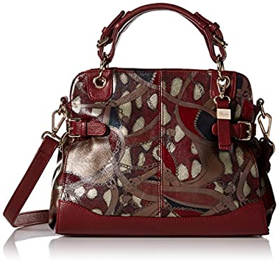 Buxton Caitlin Satchel Top Handle Bag