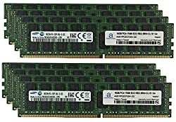 Samsung Original 128GB (8x16GB) Server Memory Upgrade for Dell PowerEdge R530 DDR4 2133MHz PC4-17000 ECC Registered Chip 2Rx4 CL15 1.2V SDRAM Adamanta