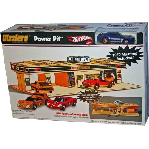 Amazon.com: Hot Wheels Sizzlers Power Pit with 1970 Mustang
