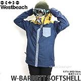 WESTBEACH(ウエストビーチ) レディース ウェア W-BARRETT SOFTSHELL ソフトシェル 15-16 IN THE NAVY/S