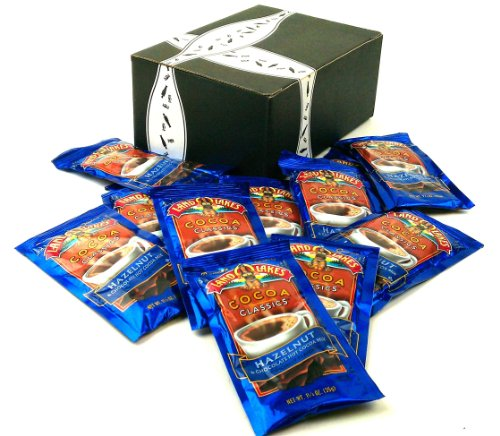 Land O Lakes Cocoa Classics, Hazelnut & Chocolate Hot Cocoa Mix, 1.25 Oz Packets In A Gift Box (Pack Of 12) front-767846