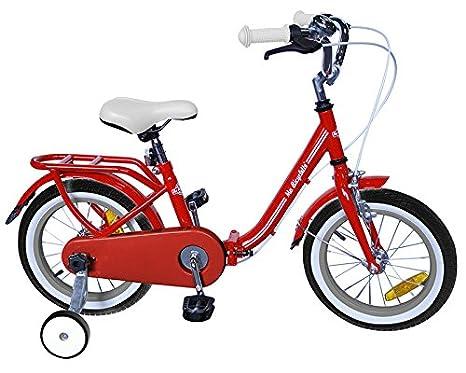 "Ma bicyclette Vélo pliable Rouge 16"""