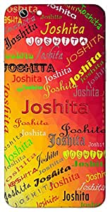 Joshita (Pleased) Name & Sign Printed All over customize & Personalized!! Protective back cover for your Smart Phone : Samsung Galaxy Note-3