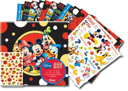 SandyLion 12-Inch by 12-Inch Disney Mickey and