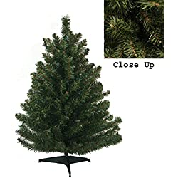"18"" Natural Two-Tone Pine Artificial Christmas Tree - Unlit"