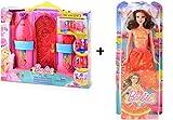 Barbie - BLP41- Le Château Magique Barbie + Poupée Barbie Fée Amies magiques BLP29