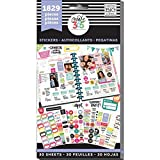 me & my BIG ideas PPSV-01 Create 365 The Happy Planner Sticker Value Pack, Planner Basics, 1829 Stickers (Color: Basics)
