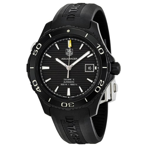 Tag Heuer Aquaracer 500 Automatic Titanium Mens Watch WAK2180.FT6027