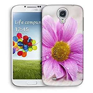Snoogg Simple Flower Designer Protective Phone Back Case Cover For Samsung Galaxy S4