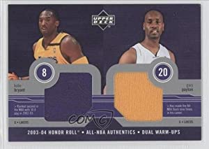 Kobe Bryant, Gary Payton Los Angeles Lakers (Basketball Card) 2003-04 Upper Deck... by Upper Deck Honor Roll