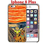 Cartoon design for Iphone 8 Plus 5.5in Hard Case Cover (scooby6)