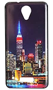 Vcare Shoppe Printed Back case cover for Micromax Canvas Pace 4G Q416