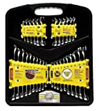 51RQKk1tPAL. SL160  Maxtech HSS73461MX 32 Piece Chrome Vanadium Combination Wrench Set
