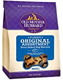 Old Mother Hubbard Crunchy Classic Natural Dog Treats, Original Assortment Small Biscuits, 3-Pound Bag