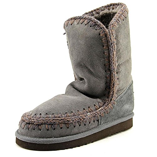 MDA Eskimo Boot de conejitos© marrage 24 cm, hierro/Dark Brown, color Gris...