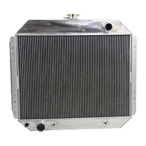 GOWE CAR 3 ROW ALUMINUM TRUCK RADIATOR 1966-1979 FOR FORD F100 F150 F250 F350 Auto Replacement Parts Cooling System (F250 Aluminum Radiator compare prices)