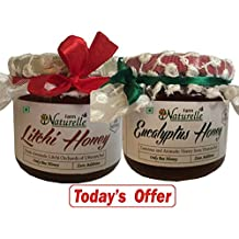 2x450 Gms Honey+40Gms Another Flower Honey (SAVE Rs.214 TODAY)The Finest 100% Pure Raw Natural Un-Processed Honey...