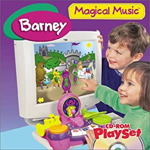 Barney Magical Music Cd-Rom Playset from Hasbro Interactive
