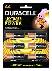 Duracell AA - Pack of 6