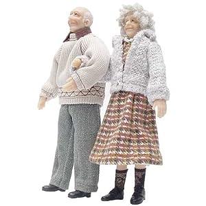 Dollhouse Miniature Ernie and Blanche