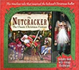 Nutcracker Doll with Classic Christmas Book