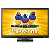 ViewSonic VA2703-LED 27-Inch LED-Lit LCD Monitor, Full HD 1080p, 3.4ms, DVI/VGA, VESA