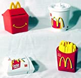 McDonalds - Food Foolers Happy Meal Set - 1999