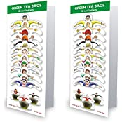 99 Tea Plain Tea Green Tea (10 Sachets, Pouch)