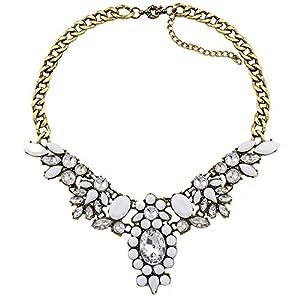 Amazon.com: Collar Llamativo Traje Noche Cadena Diseñador: Watches