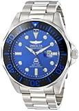 Invicta Men's 14655 Pro Diver Analog Display Swiss Quartz Silver Watch
