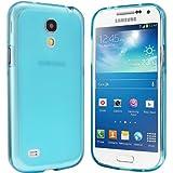 Samsung Galaxy S4 Mini Hülle - Schutzhülle Silikonhülle Case Cover Tasche für Samsung S4 Mini (Blau)