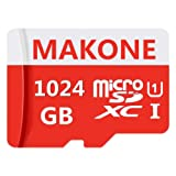 MAKKEN 1TB Micro SD Card High Speed 1024GB Memory Card SDXC Card with SD Adapter
