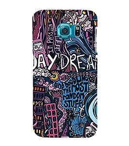 Fuson Premium Back Case Cover Day Dream With Multi Background Degined For Samsung Galaxy S6 Edge+ G928::Samsung Galaxy S6 Edge Plus G928F