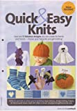 Quick & Easy Knits Winter Blanket Part 2, Halloween Finger Puppets, Pumpkin Place Holder, Loopy Ghost, Pumpkin Hat, Socks, Scarf 11 designs Knitting Pattern (Simply Knitting Magazine Pull Out Pattern)