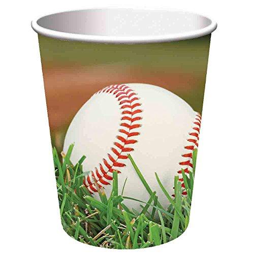 Sports Fanatic Baseball Hot/Cold 9oz Paper Cups 96ct