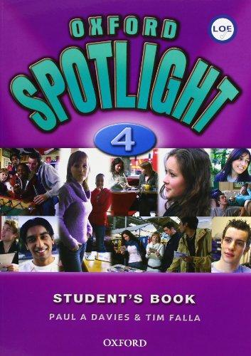 Oxford Spotlight 4: Student's Book Pack Spanish