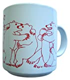 Animates Red Daytime Bears Mug - Taylor & Ng