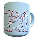 Animates Red Daytime Bears Mug – Taylor & Ng