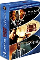 Hard Action Blu-ray Three-pack Hitman Street Kings Man On Fire by 20th Century Fox