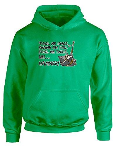 fool-me-once-enfants-imprime-a-capuche-vert-noir-transfert-12-13-ans