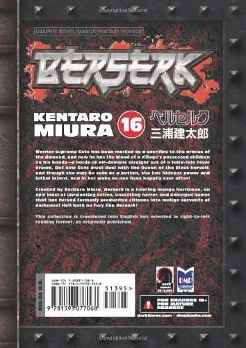 Berserk Volume 16: v. 16 (Berserk (Graphic Novels))