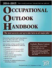 department of labor occupational handbook