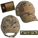 Texas Tactical Hat & Patch Bundle (2 Patches + Hat) - Multicam