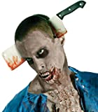 The Walking Dead Costume Accessory Cleaver In Head, Standard color, One Size
