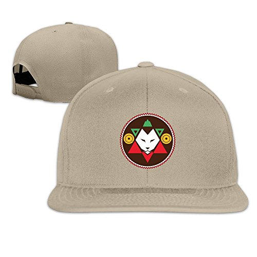 Reggae Revival Solid Snapback Baseball Hat Cap One Size Natural